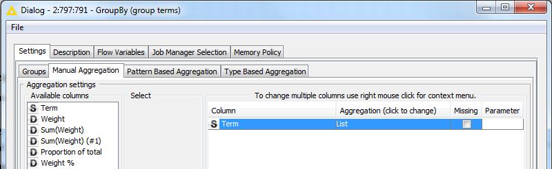 Output Group By 'List' Aggregation to Excel - KNIME