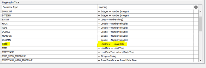 Oracle wrong data type mapping - KNIME ytics Platform ... on sap data mapping, oracle data mapping, microsoft data mapping, xml data mapping, hadoop data mapping,