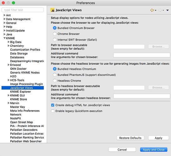 Execution failure of PhantomJSImageGenerator on Linux
