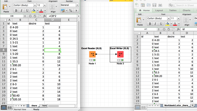 Manipulating excel Sheets - KNIME Analytics Platform - KNIME