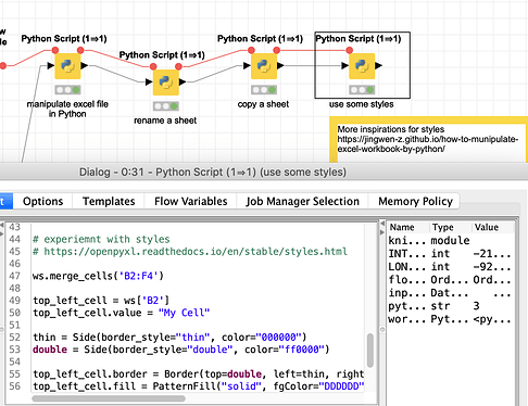Openpyxl Insert Column