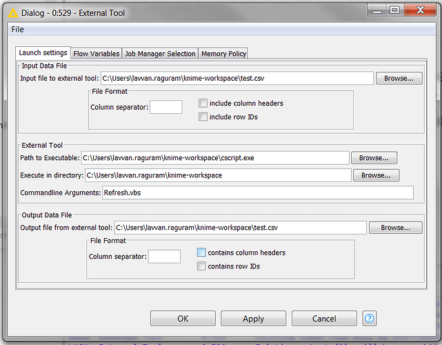 Deploy exe to server to schedule workflow with External Tool