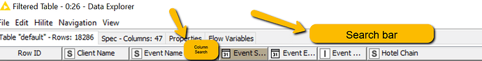 knime_data_explorer search