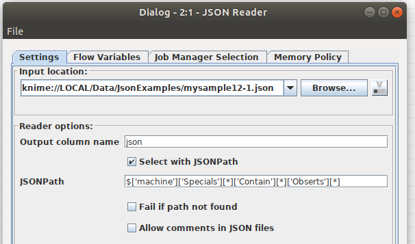 JSON to Table - KNIME Analytics Platform - KNIME Community Forum