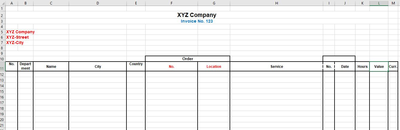 Copy Rows and paste into an existing excel file with existing layout