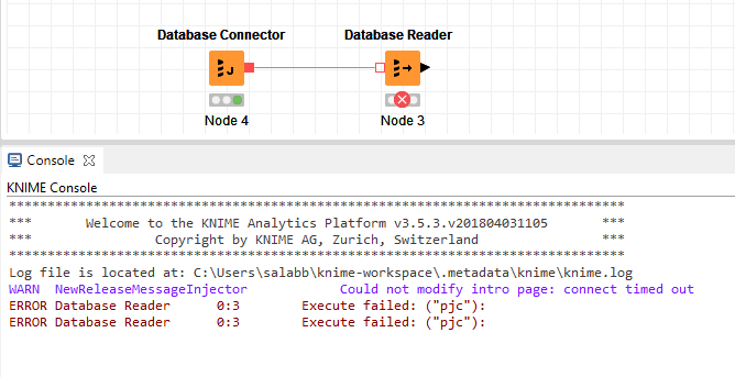 Issues when querying Splunk via KNIME - KNIME Analytics