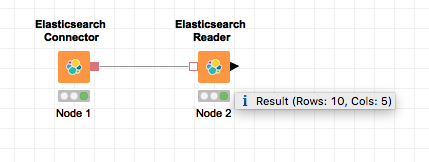Tool Tips, how do I get to see the table row count? - KNIME