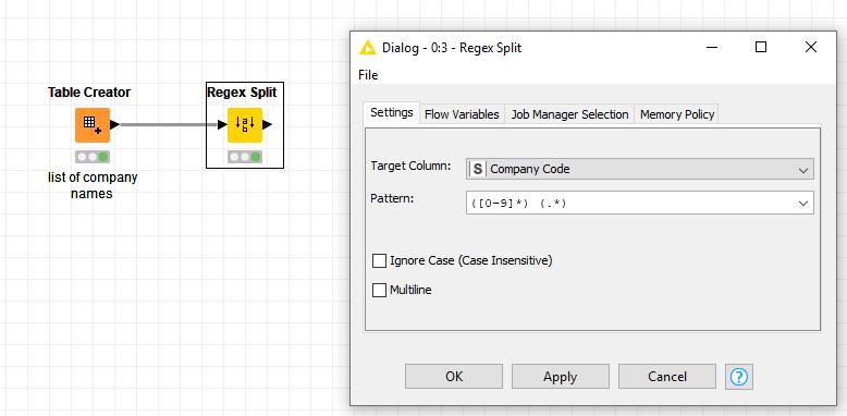 Split by first space - KNIME Analytics Platform - KNIME