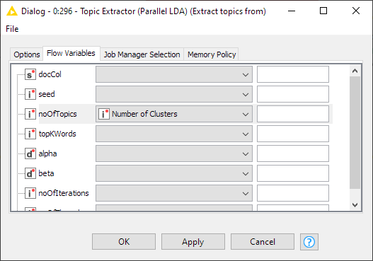 2020-12-03 11_01_39-Dialog - 0_296 - Topic Extractor (Parallel LDA) (Extract topics from)