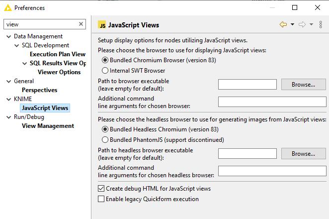 Javascript Views